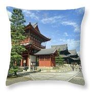 Daitokuji Zen Temple Complex - Kyoto Japan Throw Pillow