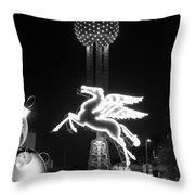 Dallas Pegasus Reunion 121517 Throw Pillow