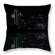 Dallas 2018 And 4 Minutes Throw Pillow