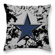Dallas Cowboys 1b Throw Pillow