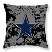 Dallas Cowboys B1 Throw Pillow