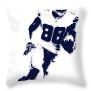 Dallas Cowboys Dez Bryant Throw Pillow