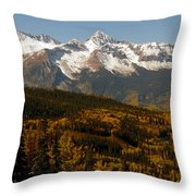 Dallas Divide Throw Pillow