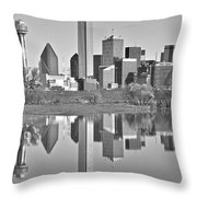 Dallas Monochrome Throw Pillow