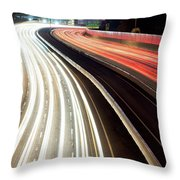 Dallas Morning Rush 122117 Throw Pillow