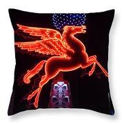 Dallas Pegasus V1 121417 Throw Pillow