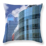 Dallas Skyscrapers  Throw Pillow