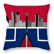 Dallas Squash T-shirt-1 Throw Pillow