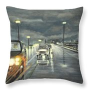 Dallas Traffic Throw Pillow