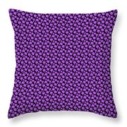 Dalmatian Pattern With A Black Background 30-p0173 Throw Pillow