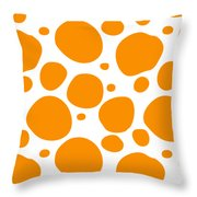 Dalmatian Pattern With A White Background 03-p0173 Throw Pillow