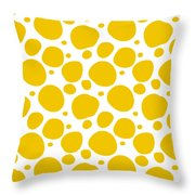 Dalmatian Pattern With A White Background 05-p0173 Throw Pillow