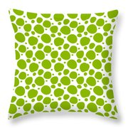 Dalmatian Pattern With A White Background 09-p0173 Throw Pillow