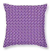 Dalmatian Pattern With A White Background 30-p0173 Throw Pillow
