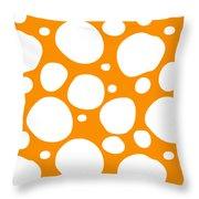 Dalmatian  White Pattern 03-p0173 Throw Pillow