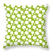 Dalmatian  White Pattern 09-p0173 Throw Pillow