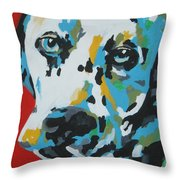 Dalmation Throw Pillow