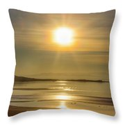 Salton Sunset Throw Pillow