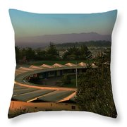 Daly City School Throw Pillow