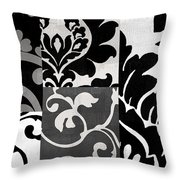 Damask Defined II Throw Pillow
