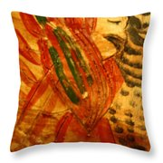 Dame - Tile Throw Pillow