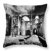 Dammarie Les Lys Abbey Throw Pillow