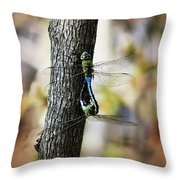 Dragonflies Need Love Too Throw Pillow