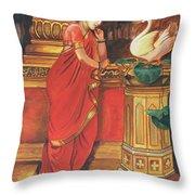 Damyanti Reproduction Throw Pillow