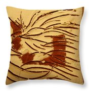 Dan - Tile Throw Pillow