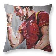 Dan Biggar Throw Pillow