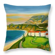 Dana Point Throw Pillow