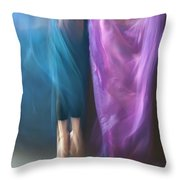 Jete Battu Throw Pillow