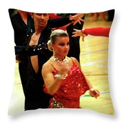 Dance Contest Nr 04 Throw Pillow