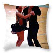 Dance Contest Nr 05  Throw Pillow