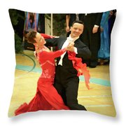 Dance Contest Nr 09 Throw Pillow