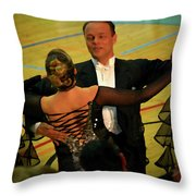Dance Contest Nr 10 Throw Pillow