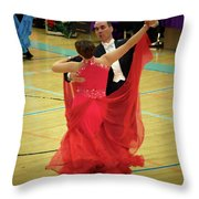 Dance Contest Nr 11 Throw Pillow