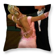 Dance Contest Nr 12 Throw Pillow