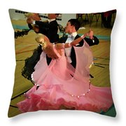 Dance Contest Nr 13 Throw Pillow