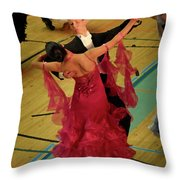 Dance Contest Nr 15 Throw Pillow