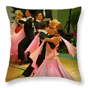 Dance Contest Nr 16 Throw Pillow