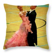 Dance Contest Nr 17 Throw Pillow
