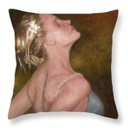 Dance For Her Father Throw Pillow