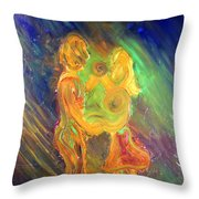 Dance For Two Throw Pillow