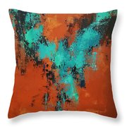 Dance In The Abyss Throw Pillow