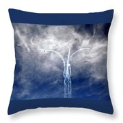 Dance In The Clouds Throw Pillow