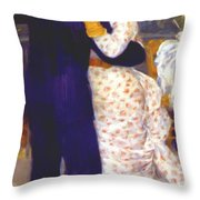 Dance In The Country 1883 1 Throw Pillow
