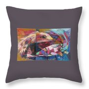 Dance In The Silence Throw Pillow