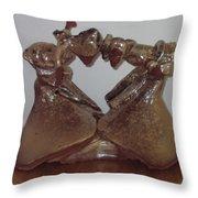 Dance Ladies Throw Pillow