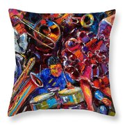 Dance Latino Throw Pillow
